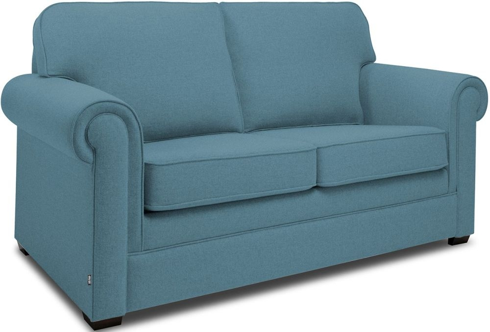 Jay-Be Classic Teal Sprung Sofa Bed with Mattress
