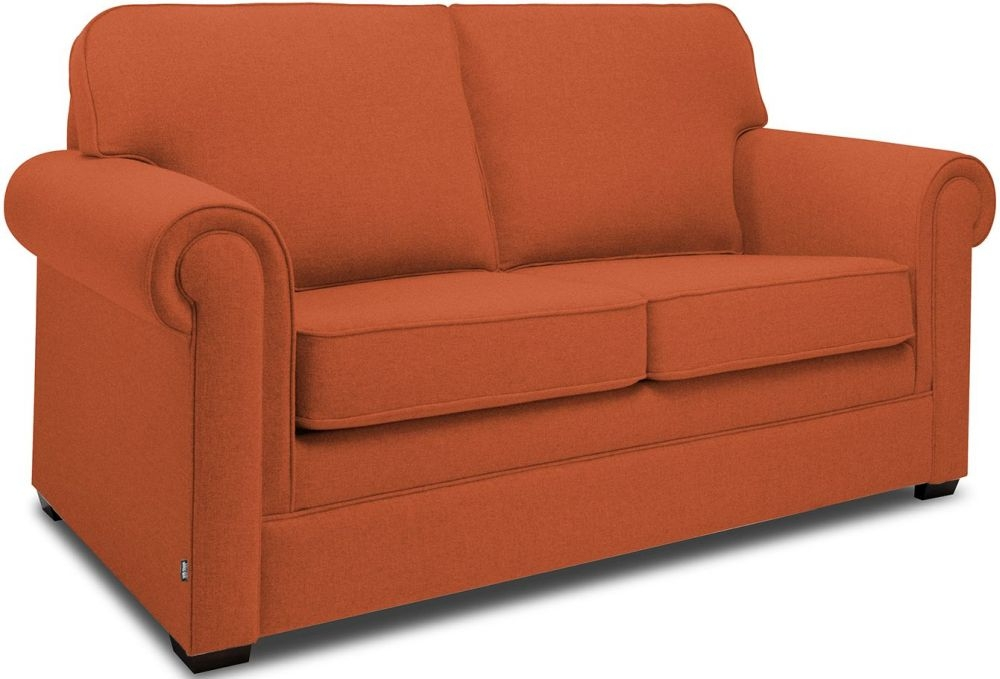 Jay-Be Classic Terracotta Sprung Sofa Bed with Mattress