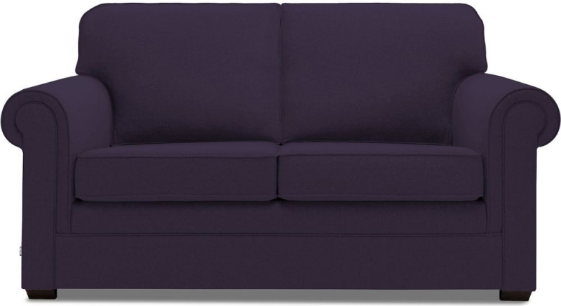 Jay-Be Classic Pocket Sprung Sofa Bed - Aubergine Fabric