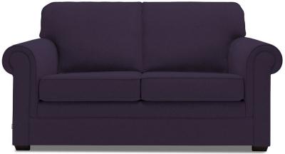 Jay-Be Classic Luxury Reflex Foam Sofa - Aubergine Fabric
