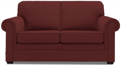 Jay-Be Classic Luxury Reflex Foam Sofa - Berry Fabric
