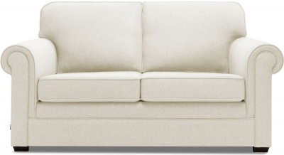 Jay-Be Classic Luxury Reflex Foam Sofa - Cream Fabric