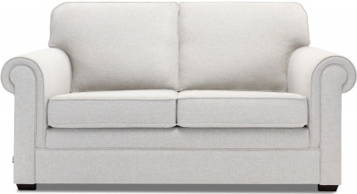 Jay-Be Classic Luxury Reflex Foam Sofa - Stone Fabric