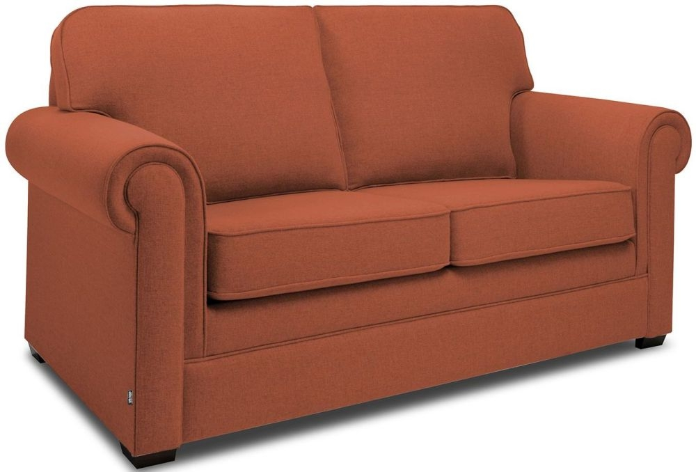 Jay-Be Classic Copper Sofa with Luxury Reflex Foam Seat Cushions