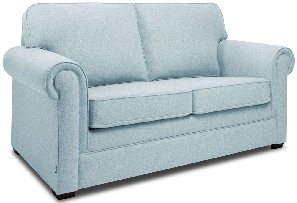 Jay-Be Classic Duck Egg Sofa with Luxury Reflex Foam Seat Cushions
