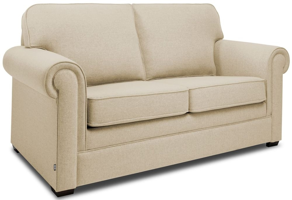 Jay-Be Classic Gold Sofa with Luxury Reflex Foam Seat Cushions