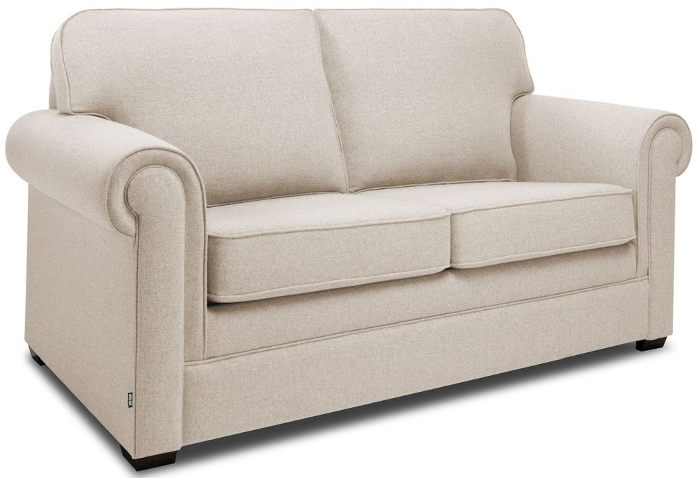 Jay-Be Classic Mink Sofa with Luxury Reflex Foam Seat Cushions