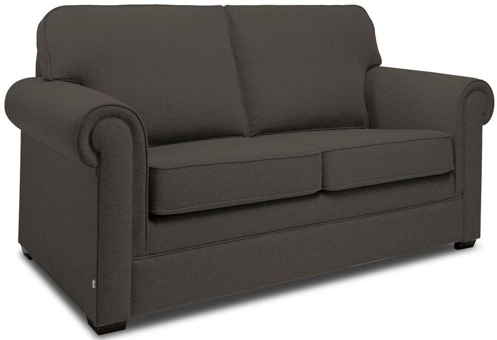 Jay-Be Classic Mocha Sofa with Luxury Reflex Foam Seat Cushions