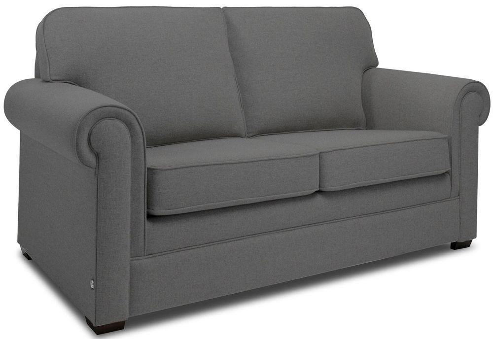 Jay-Be Classic Slate Sofa with Luxury Reflex Foam Seat Cushions