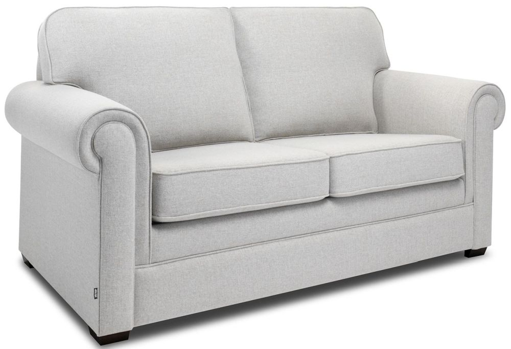Jay-Be Classic Stone Sofa with Luxury Reflex Foam Seat Cushions
