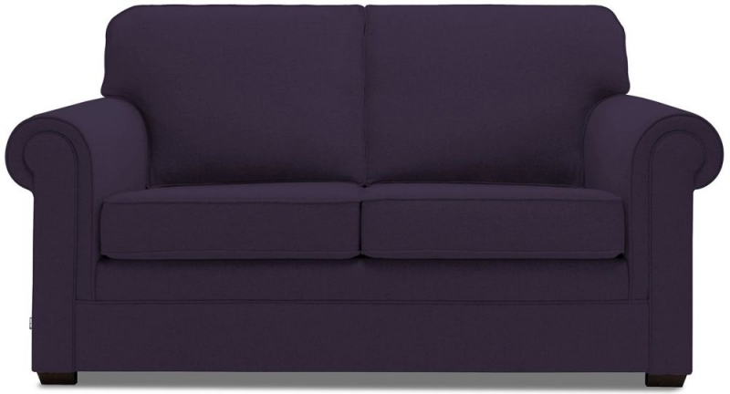 Jay-Be Classic Luxury Reflex Foam Sofa - Aubergine Fabric