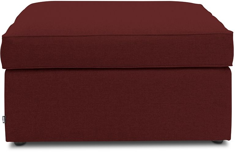 Jay-Be Footstool Berry Bed With Airflow Fibre Mattress