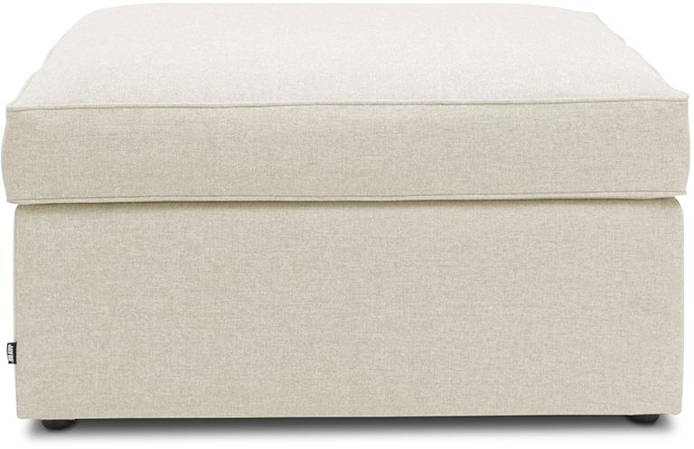 Jay-Be Footstool Cream Bed With Airflow Fibre Mattress