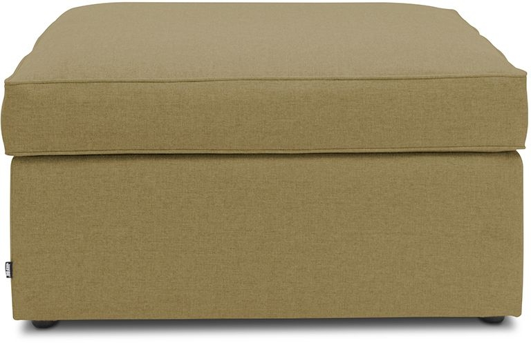 Jay-Be Footstool Olive Bed With Airflow Fibre Mattress
