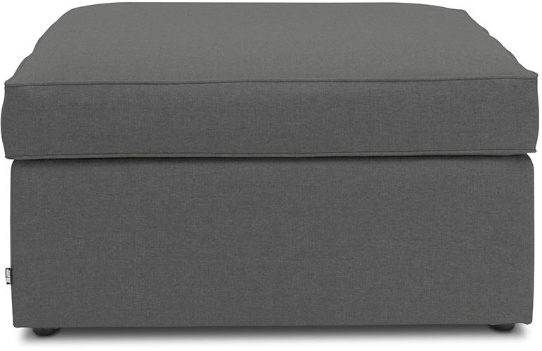 Jay-Be Footstool Airflow Fibre Mattress Bed - Slate Fabric