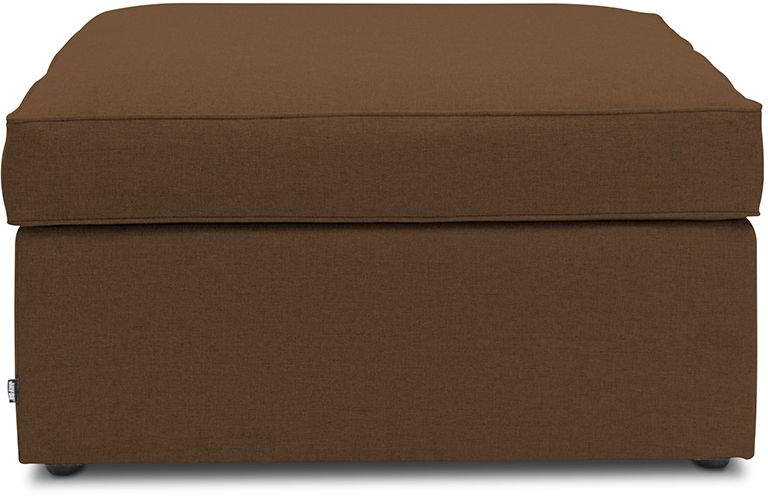 Jay-Be Footstool Tan Bed With Airflow Fibre Mattress