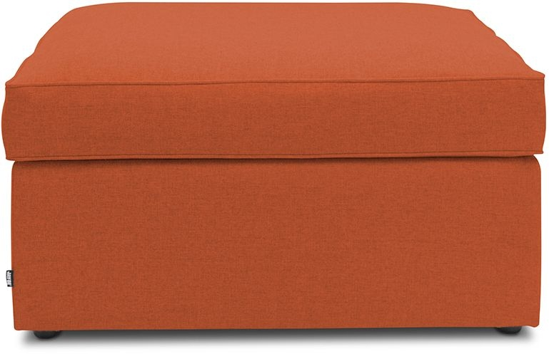 Jay-Be Footstool Terracotta Bed With Airflow Fibre Mattress
