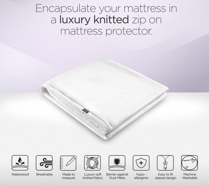 Jay-Be Value Airflow Small Double Folding Bed Mattress Protector