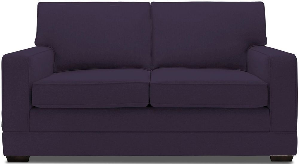 Jay-Be Modern Aubergine Pocket Sprung Sofa Bed with Mattress