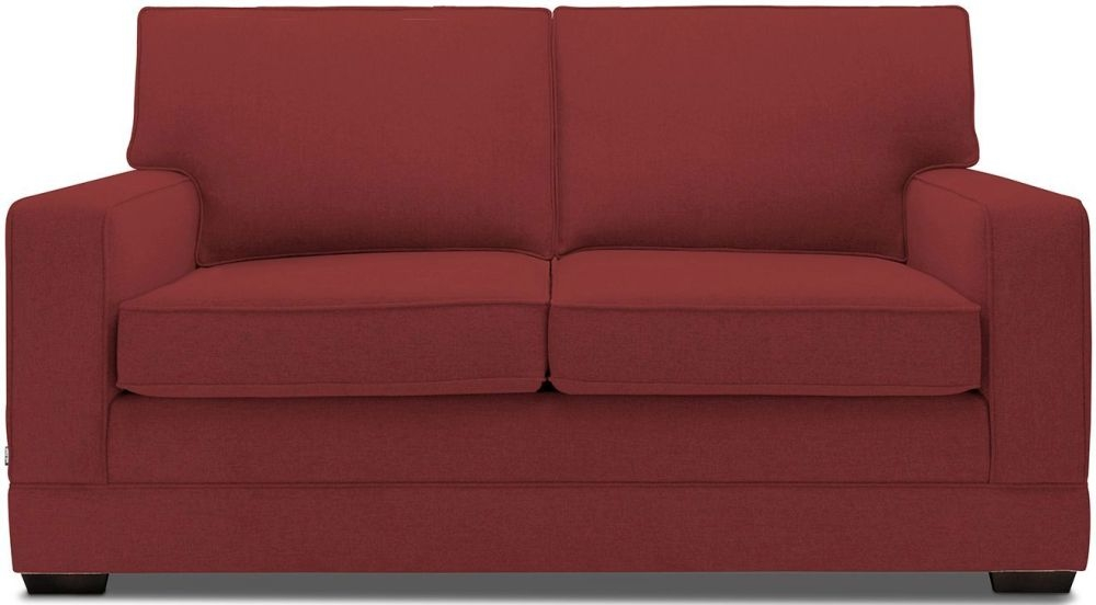 Jay-Be Modern Cranberry Pocket Sprung Sofa Bed with Mattress