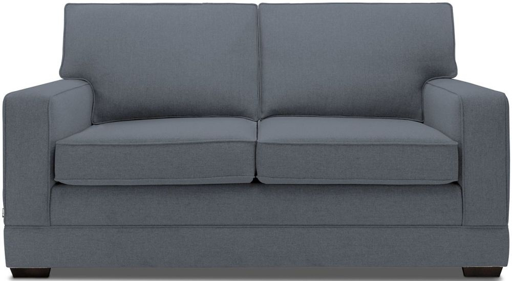 Jay-Be Modern Denim Pocket Sprung Sofa Bed with Mattress