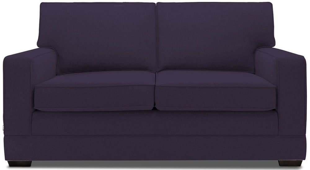 Jay-Be Modern Pocket Sprung Sofa Bed - Aubergine Fabric