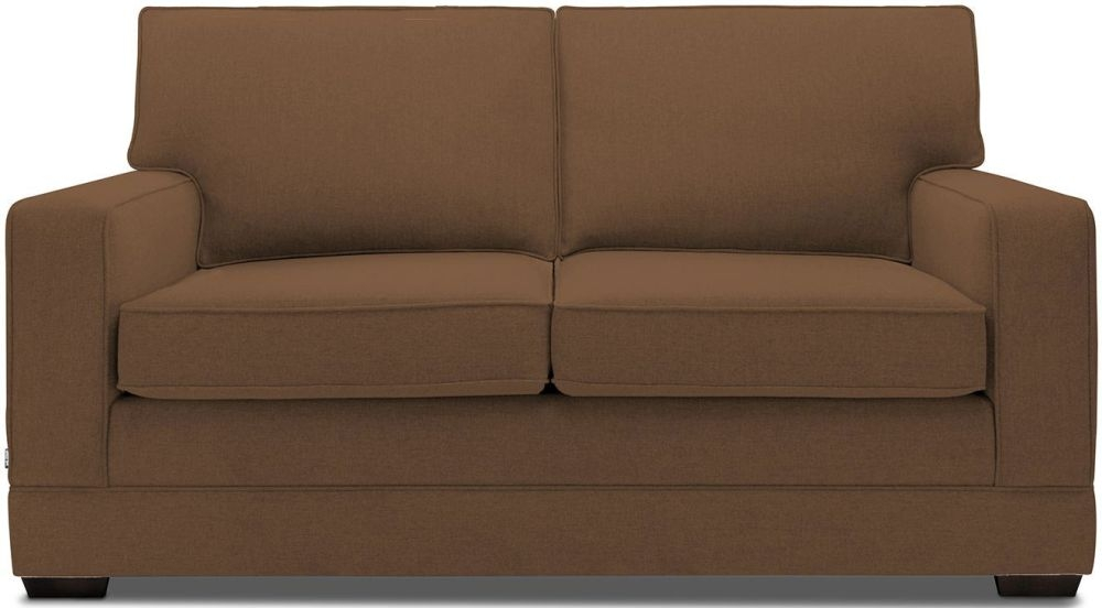 Jay-Be Modern Tan Pocket Sprung Sofa Bed with Mattress