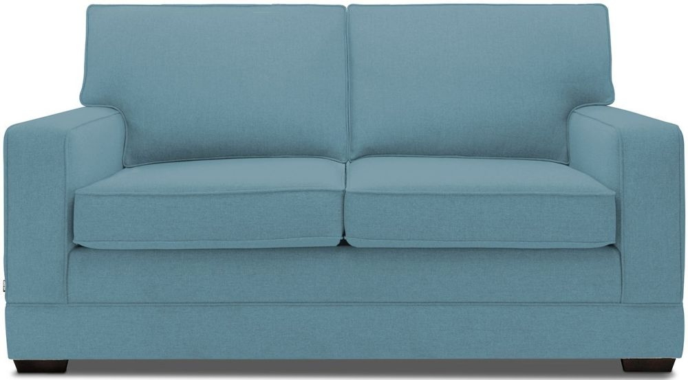 Jay-Be Modern Teal Pocket Sprung Sofa Bed with Mattress