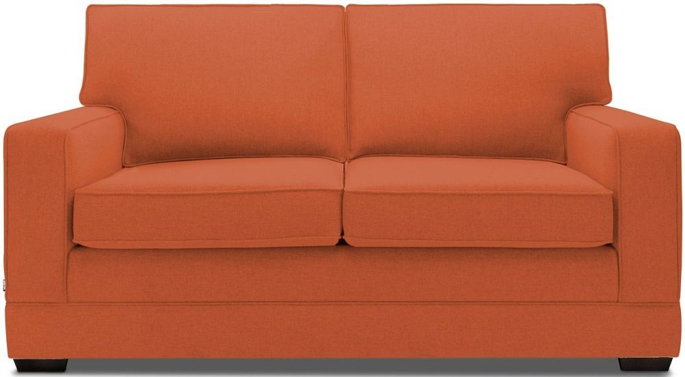 Jay-Be Modern Terracotta Pocket Sprung Sofa Bed with Mattress