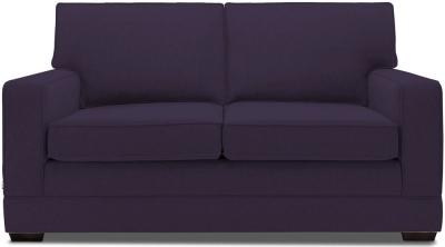 Jay-Be Modern Luxury Reflex Foam Sofa - Aubergine Fabric