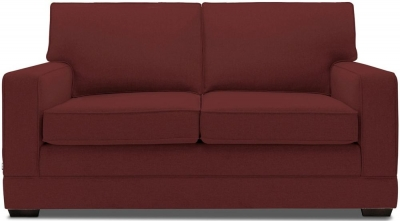 Jay-Be Modern Luxury Reflex Foam Sofa - Berry Fabric