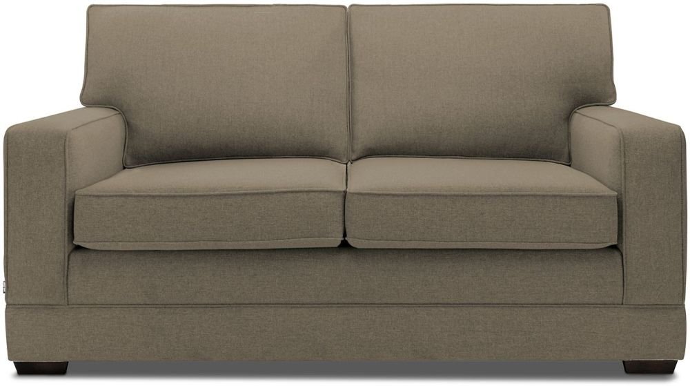 Jay-Be Modern Bark Sofa with Luxury Reflex Foam Seat Cushions