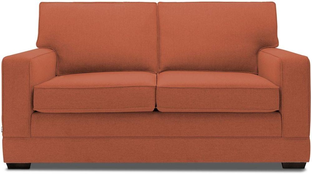 Jay-Be Modern Copper Sofa with Luxury Reflex Foam Seat Cushions