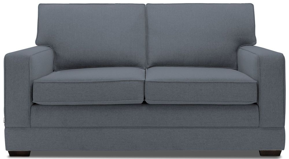 Jay-Be Modern Denim Sofa with Luxury Reflex Foam Seat Cushions