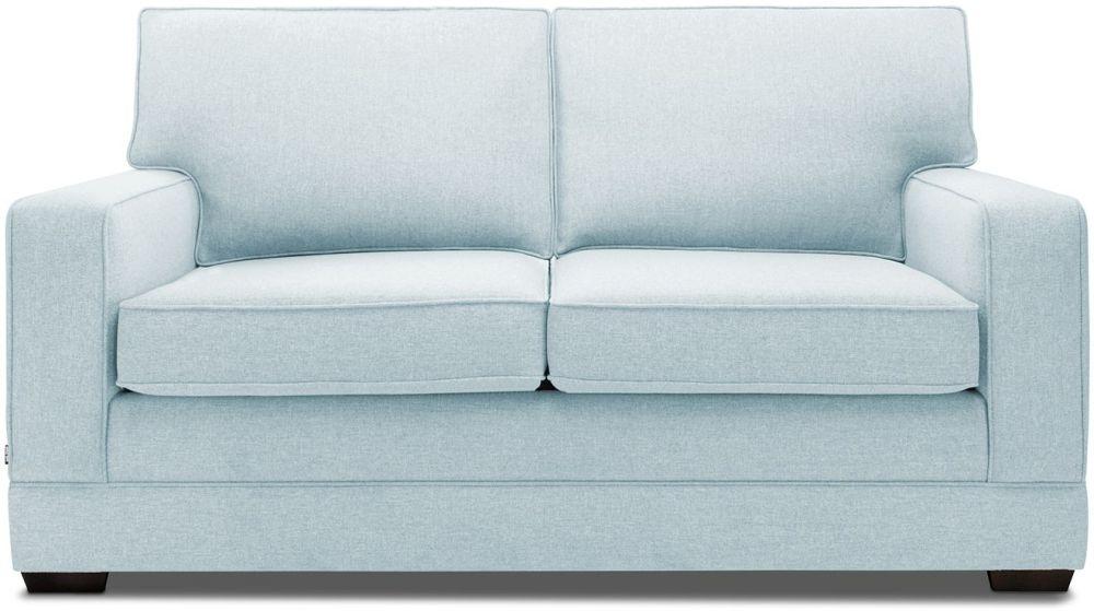 Jay-Be Modern Duck Egg Sofa with Luxury Reflex Foam Seat Cushions