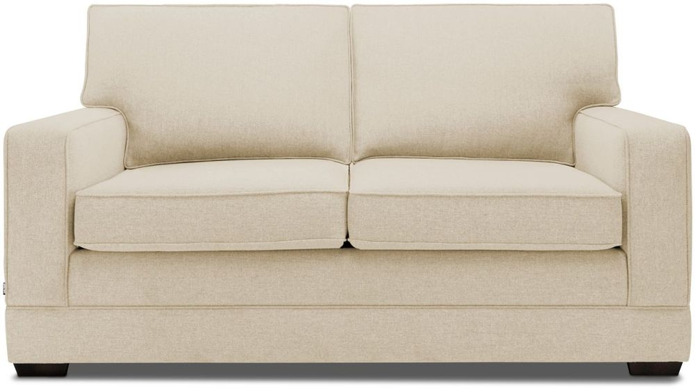 Jay-Be Modern Gold Sofa with Luxury Reflex Foam Seat Cushions