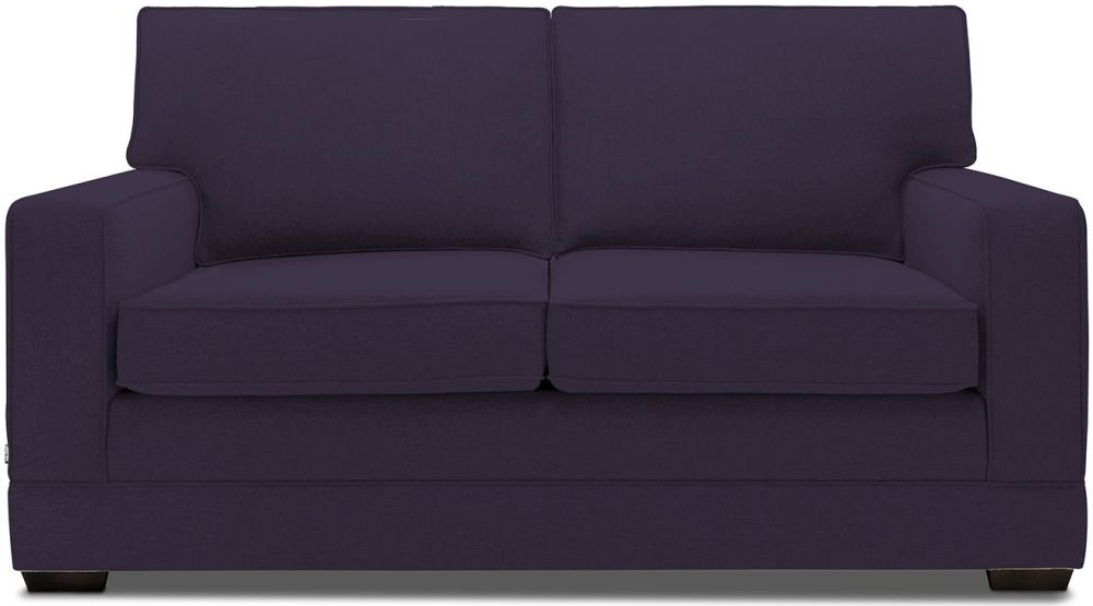 Jay-Be Modern Luxury Reflex Foam Sofa - Aubergine Fabric