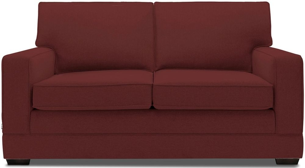 Jay-Be Modern Luxury Reflex Foam Sofa - Berry Fabric