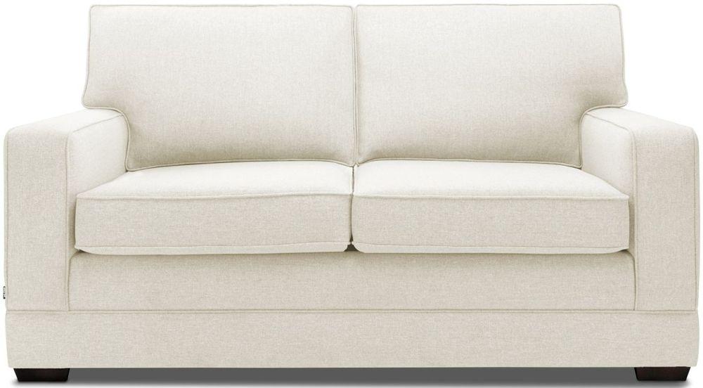 Jay-Be Modern Luxury Reflex Foam Sofa - Cream Fabric
