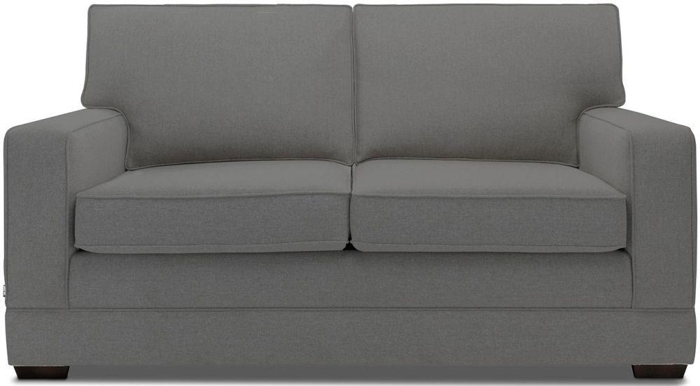 Jay-Be Modern Luxury Reflex Foam Sofa - Slate Fabric