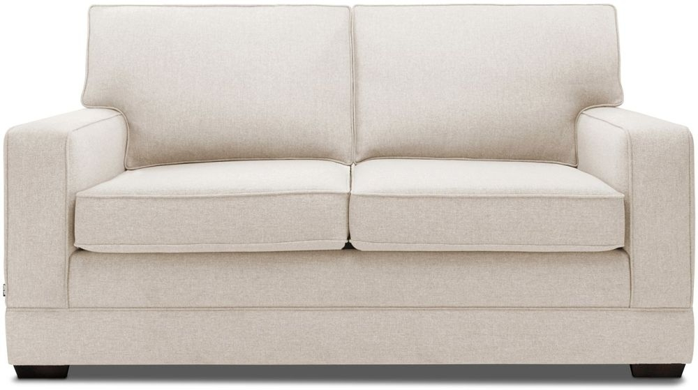 Jay-Be Modern Mink Sofa with Luxury Reflex Foam Seat Cushions