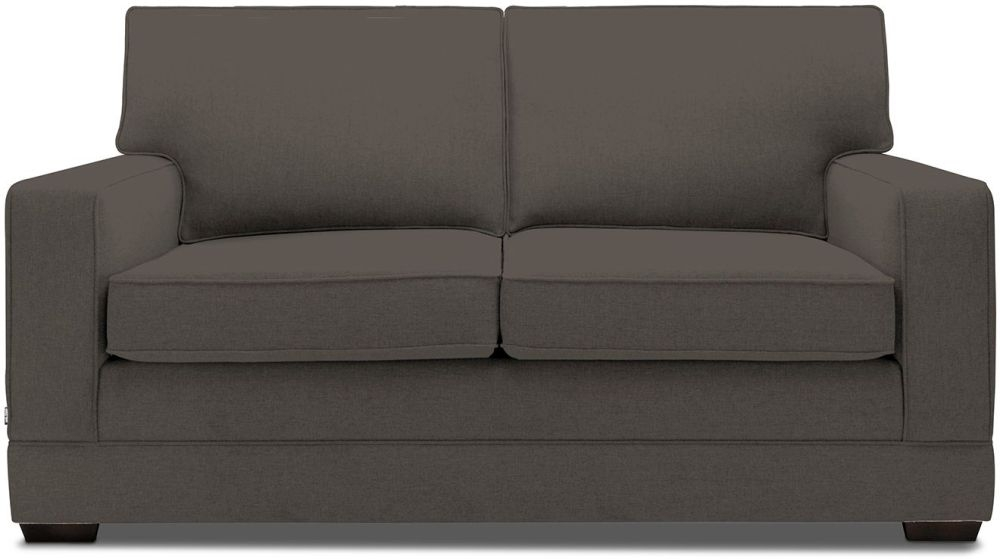 Jay-Be Modern Mocha Sofa with Luxury Reflex Foam Seat Cushions
