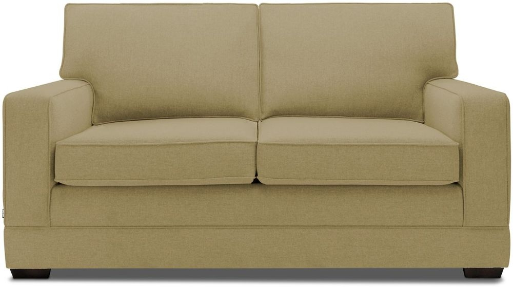 Jay-Be Modern Olive Sofa with Luxury Reflex Foam Seat Cushions