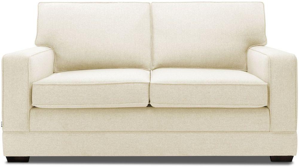 Jay-Be Modern Sand Sofa with Luxury Reflex Foam Seat Cushions