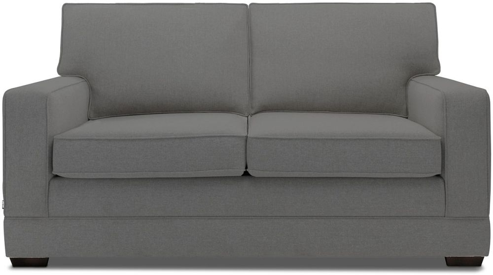 Jay-Be Modern Slate Sofa with Luxury Reflex Foam Seat Cushions