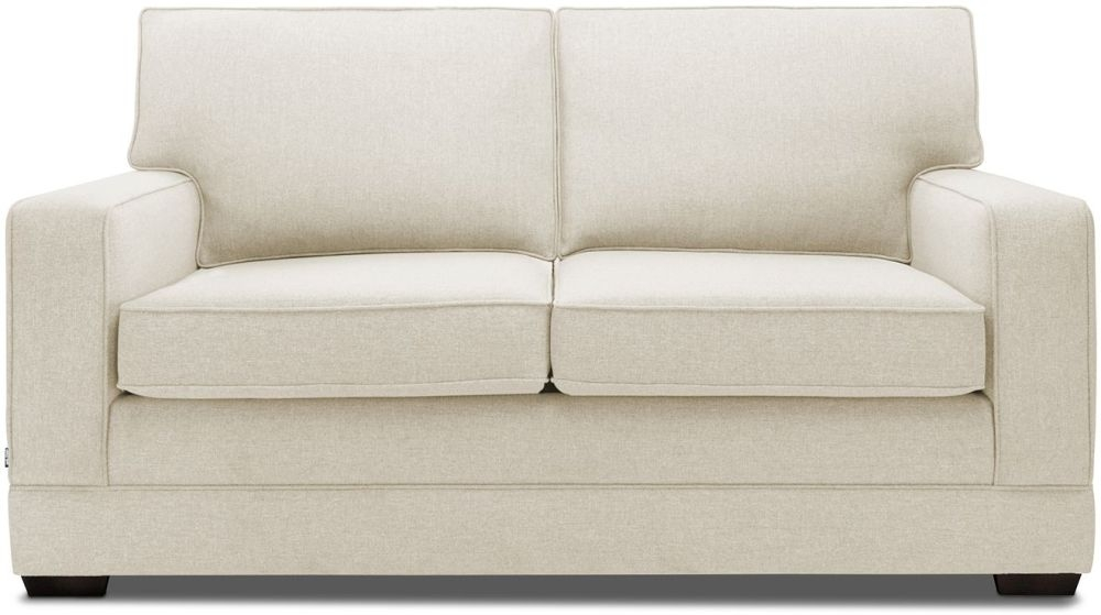 Jay-Be Modern Wheat Sofa with Luxury Reflex Foam Seat Cushions