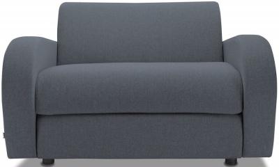 Jay-Be Retro Deep Sprung Mattress Chair Sofa Bed - Denim Fabric