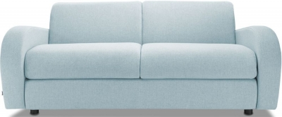 Jay-Be Retro Deep Sprung Mattress 3 Seater Sofa Bed - Duck Egg Fabric