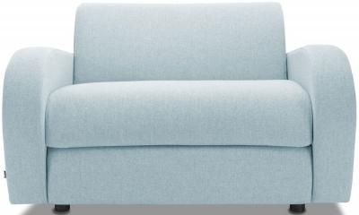 Jay-Be Retro Deep Sprung Mattress Chair Sofa Bed - Duck Egg Fabric