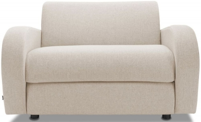 Jay-Be Retro Deep Sprung Mattress Chair Sofa Bed - Mink Fabric